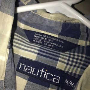Vintage Nautica button down shirt